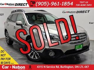 Used 2016 Subaru Outback 3.6R Limited| AWD| NAVI| SUNROOF| LEATHER| for sale in Burlington, ON