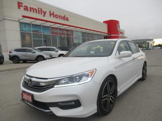 Used 2016 Honda Accord Sport for sale in Brampton, ON