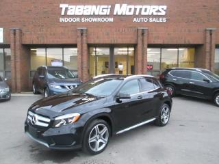 Used 2015 Mercedes-Benz GLA A.M.G | NAVIGATION | PANORAMIC SUNROOF | LEATHER | B/T for sale in Mississauga, ON