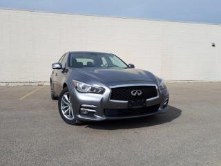 Used 2015 Infiniti Q50 4DR SDN AWD for sale in Edmonton, AB
