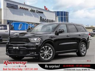 Used 2019 Dodge Durango R/T - Htd Seats, Htd Wheel, Awd, 8.4 Media Screen, for sale in Etobicoke, ON