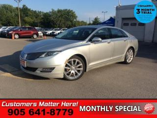Used 2014 Lincoln MKZ Reserve  RESERVE NAV ROOF CS BS THX-AUDIO for sale in St. Catharines, ON