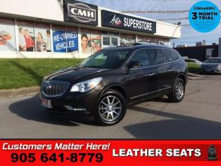 Used 2014 Buick Enclave Leather  LEATH 8-PASS CAM BS 8W-P/SEATS for sale in St. Catharines, ON