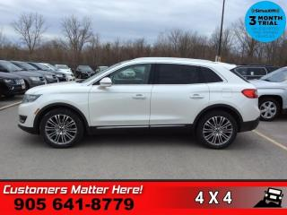 Used 2016 Lincoln MKX Reserve  RESERVE TECH ADAP-CC LD CW 360-CAM for sale in St. Catharines, ON