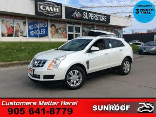 Used 2014 Cadillac SRX Luxury  NAV CUE ROOF LD BS CW CAM BOSE for sale in St. Catharines, ON