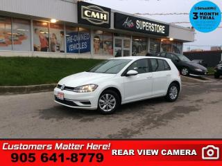 Used 2018 Volkswagen Golf Trendline  CAM HTD SEATS BT ALLOYS for sale in St. Catharines, ON