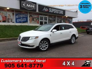 Used 2018 Lincoln MKT 3.5L AWD Elite  ELITE TECH-PKG ADAP-CC LD CW NAV for sale in St. Catharines, ON