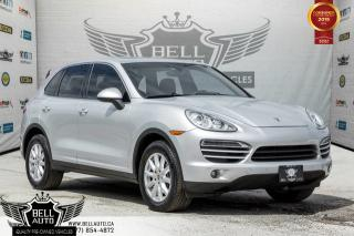 Used 2013 Porsche Cayenne V6, NAVI, PANO ROOF, AWD, PARKING SENSORS, PORSCHE WATCH, MINT for sale in Toronto, ON