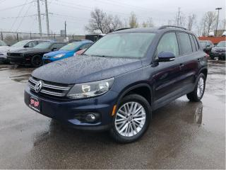 Used 2016 Volkswagen Tiguan 4Motion| Special Edition | Panoroof| Htd Seats| Al for sale in St Catharines, ON