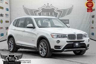 Used 2015 BMW X3 xDrive28i, NAVI, BACK-UP CAM, PANO ROOF, PARKING SENSORS, HEATED SEATS for sale in Toronto, ON