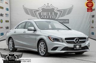 Used 2014 Mercedes-Benz CLA-Class CLA 250, NAVI, BACK-UP CAM, BLIND SPOT, BLUETOOTH, USB, HEATED SEATS for sale in Toronto, ON