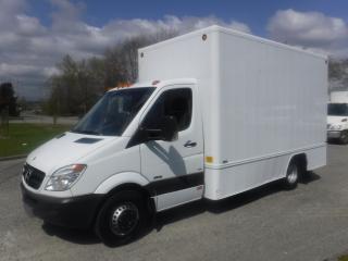 Used 2010 Mercedes-Benz Sprinter 3500 170-in. WB 14 Foot Cube Van Diesel Dually for sale in Burnaby, BC