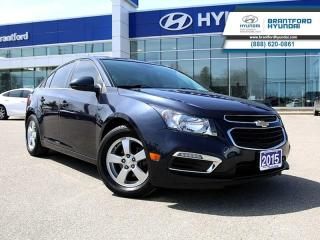 Used 2015 Chevrolet Cruze 2LT  - Sunroof -  Leather Seats - $107.64 B/W for sale in Brantford, ON