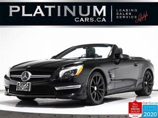 Used 2014 Mercedes-Benz SL-Class SL63 AMG PERFORMANCE PKG, PANO ROOF, DRIVE ASSIST for sale in Toronto, ON
