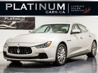 Used 2014 Maserati Ghibli S Q4 SPORT, PREMIUM, LUXURY, NAVI, CAM for sale in Toronto, ON