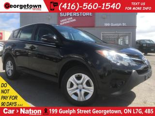Used 2013 Toyota RAV4 LE| ALL WHEEL DRIVE | BLUETOOTH | ECO MODE |LOW KM for sale in Georgetown, ON