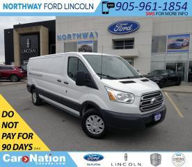 Used 2018 Ford Transit 250 | CARGO | VINYL FLOOR | BACK UP CAM/SENSORS | for sale in Brantford, ON