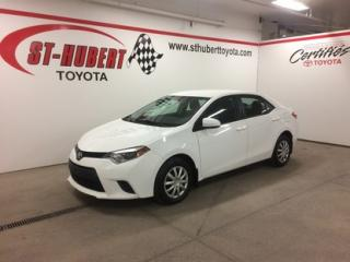 Used 2014 Toyota Corolla CE for sale in St-Hubert, QC