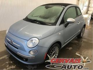 Used 2013 Fiat 500 LOUNGE Convertible for sale in Trois-Rivières, QC