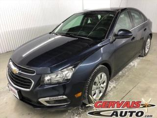 Used 2016 Chevrolet Cruze Lt Turbo A/c for sale in Trois-Rivières, QC