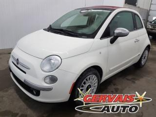 Used 2015 Fiat 500 C Convertible Lounge for sale in Shawinigan, QC