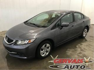 Used 2015 Honda Civic Lx A/c Bluetooth for sale in Trois-Rivières, QC