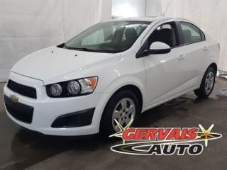 Used 2015 Chevrolet Sonic Ls A/c for sale in Trois-Rivières, QC