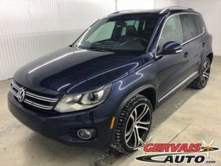 Used 2017 Volkswagen Tiguan Highline R-line for sale in Trois-Rivières, QC