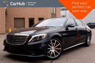 Used 2016 Mercedes-Benz S-Class AMG S 63|Intelligent.Drive.Pkgs|Prem.Seat.Pkg| for sale in Thornhill, ON