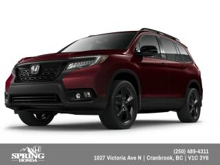 New 2019 Honda Passport Touring $323 BI-WEEKLY - $0 DOWN for sale in Cranbrook, BC