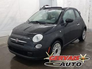Used 2013 Fiat 500 C CONVERTIBLE POP for sale in Shawinigan, QC