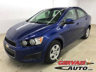 Used 2014 Chevrolet Sonic Ls A/c for sale in Shawinigan, QC