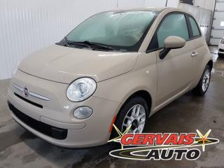 Used 2012 Fiat 500 Pop A/C MAGS *Bas Kilométrage* for sale in Shawinigan, QC