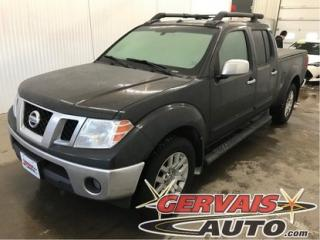 Used 2012 Nissan Frontier Sl Crew 4x4 Cuir for sale in Shawinigan, QC