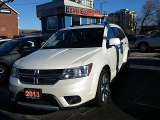 Used 2013 Dodge Journey R/T AWD **7 Passenger/Fully Loaded/Only 57k!** for sale in Barrie, ON