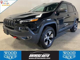 Used 2018 Jeep Cherokee Trailhawk CLEAN CARFAX, PANORAMIC SUNROOF, HEATED LEATHER for sale in Calgary, AB