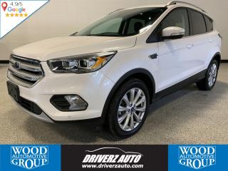 Used 2018 Ford Escape Titanium CLEAN CARFAX, ONE OWNER, TITANIUM TRIM for sale in Calgary, AB