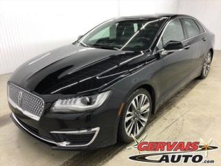 Used 2017 Lincoln MKZ Reserve Awd Gps Cuir for sale in Trois-Rivières, QC