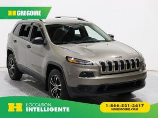 Used 2016 Jeep Cherokee SPORT AWD A/C GR for sale in St-Léonard, QC