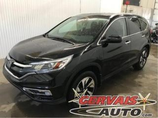 Used 2015 Honda CR-V Touring Awd Gps Cuir for sale in Trois-Rivières, QC