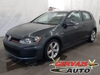 Used 2016 Volkswagen Golf GTI A/C for sale in Trois-Rivières, QC