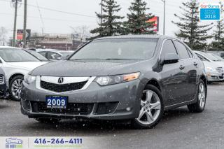 Used 2009 Acura TSX Sunroof Tiptronic Certified Serviced Tinted Clean for sale in Bolton, ON