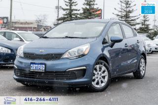 Used 2016 Kia Rio M-6 A/C 1 Owner No Accident Certified Serviced for sale in Bolton, ON