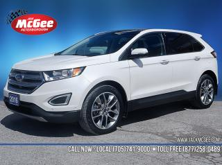 Used 2016 Ford Edge Titanium 3.5L V6, Htd Ltr Bkts, Sunroof, NAV, Pwr LiftG, Sync3 for sale in Peterborough, ON