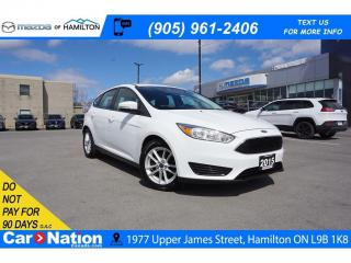 Used 2015 Ford Focus SE | REAR CAM | HEATED SEATS | BLUETOOTH for sale in Hamilton, ON