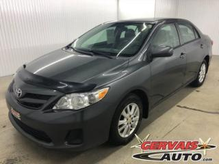 Used 2011 Toyota Corolla CE A/C MAGS for sale in Trois-Rivières, QC