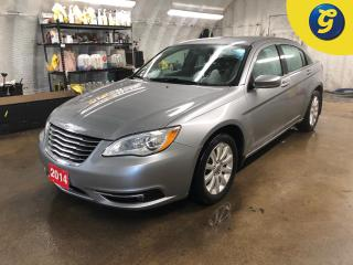 Used 2014 Chrysler 200 Touring * Remote start * Heated front seats/mirrors * Keyless entry * Cloth interior *  Climate control * Steering wheel controls * Auto headlights/Fo for sale in Cambridge, ON