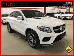 Used 2016 Mercedes-Benz GLE GLE350D 4MATIC COUPE INTELLIGENT DRIVE SPORT PREMIUM for sale in Vaughan, ON