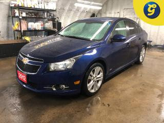 Used 2012 Chevrolet Cruze 2LT * RS * Sunroof * Hands free steering wheel controls * Phone connect * Voice recognition * On star * Keyless entry * Climate control * Cruise contr for sale in Cambridge, ON