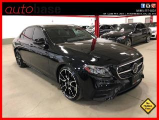 Used 2018 Mercedes-Benz E-Class AMG E43 4MATIC TECHNOLOGY INTELLIGENT DRIVE AMG DRIVER PREMIUM for sale in Vaughan, ON